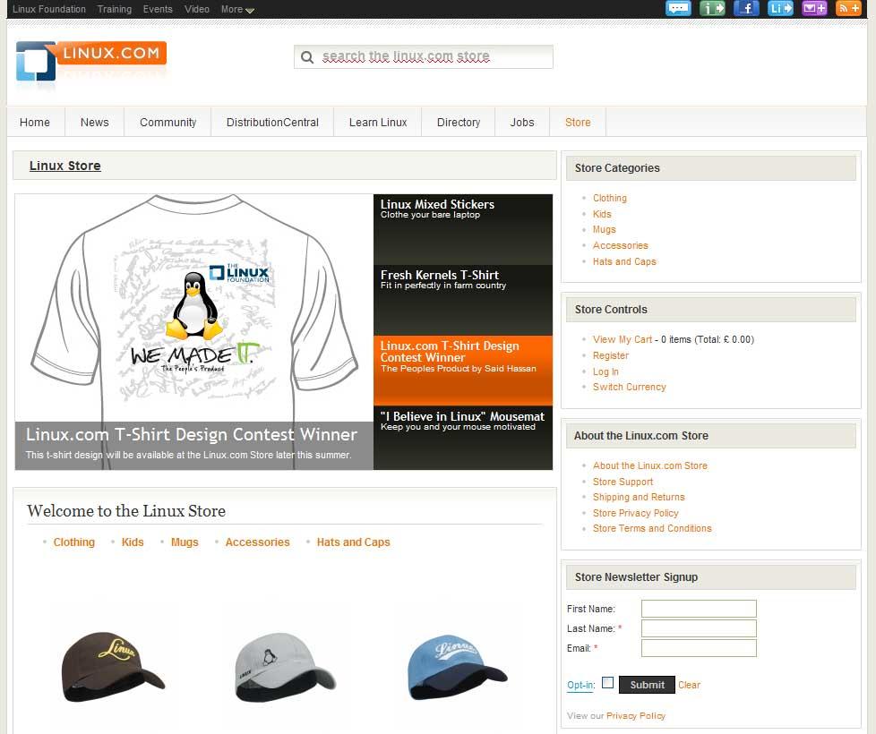 Официальный Интернет-магазина Linux-атрибутики