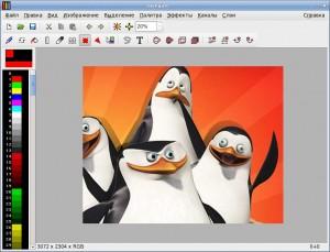 mtPaint - простой графический редактор для Linux