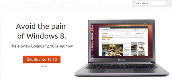 Canonical предлагала «избежать боли от Windows 8»