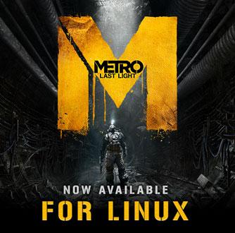 Valve пополнила каталог игр для Linux версией игры Metro: Last Light для