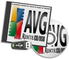 Программа AVG Rescue CD 120.140203