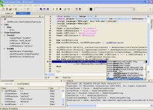 Специфика использования программы Vrode Script Editor