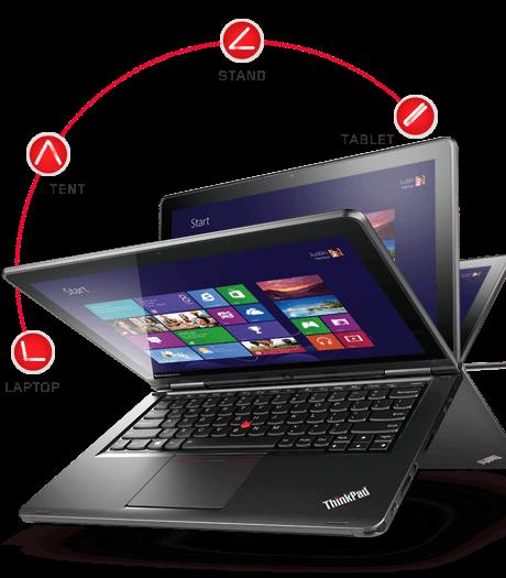 Компания Lenovo презентовала обновленную серию ноутбуков