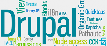 команда Drupal