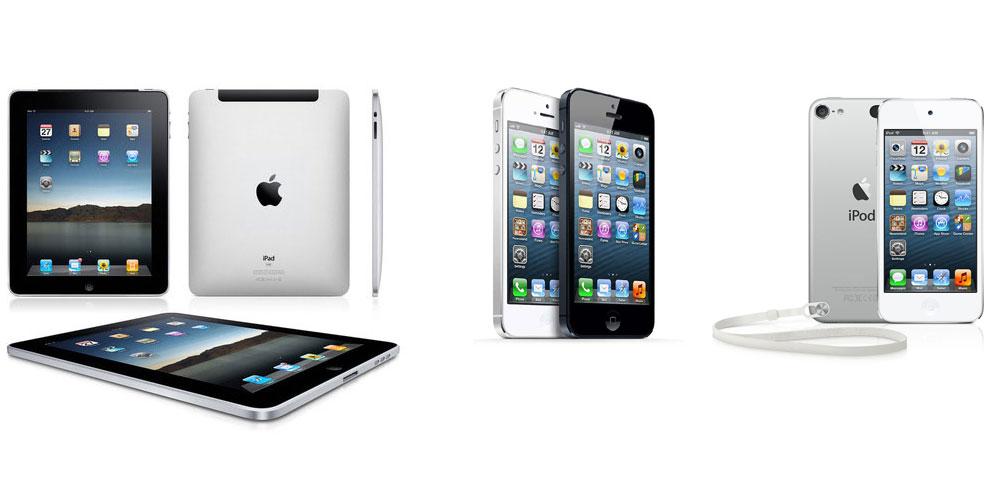 Чем iPad отличается от iPhone или iPod touch