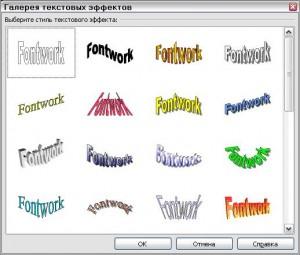 OpenOffice.org Impress - Модуль FontWork