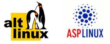 Дистрибутивы ALT Linux и ASPLinux