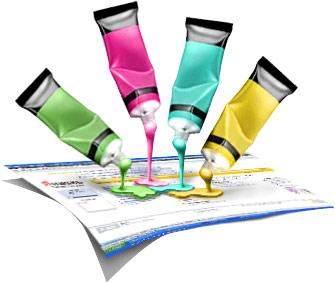 Створення сайтів Тернопіль, кольори, шрифти, композиція