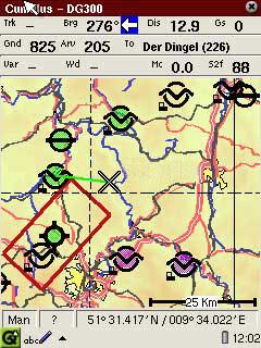 Cumulus - GPS программа на базе Linux