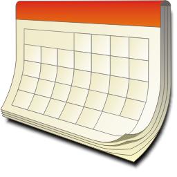 Календарь KDE - Кнопки на панели инструментов