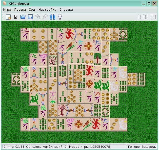 Mahjong Suite Ключ