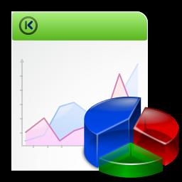 KChart - Изменение диаграмм