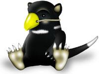 Логотип Linux-ядра 2.6.29 - Тасманский дьявол