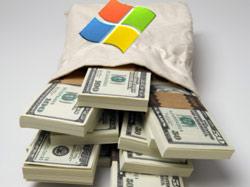 Microsoft собирает отчисления за использование Linux
