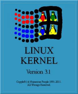 Предложен новый логотипа ядра Linux 3.1