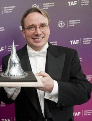 Линус Торвальдс получил Millennium Technology Prize