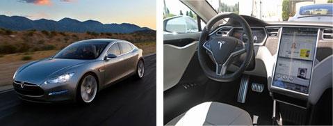 Электромобиле Tesla Model S работает на ОС Linux