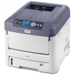 Принтер с возможностью печати белым тонером от OKI