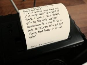 Happiness Machine - уникальный интернет-принтер