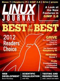 Рейтинг лучших Linux/Open Source-продуктов 2012 по версии Linux Journal