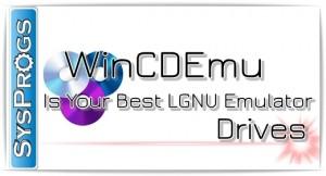 Эмулятор оптического привода WinCDEmu