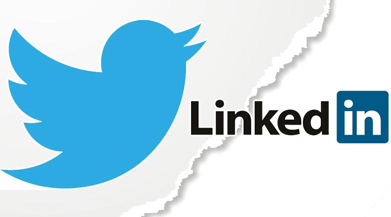 Популярные социальнве сети: Twitter и Линкедин