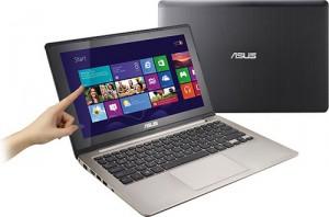 ASUS предлагает клиентам новый ноутбук мультитач