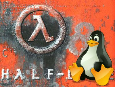 Каталог Steam для Linux пополнил оригинальный Half-Life