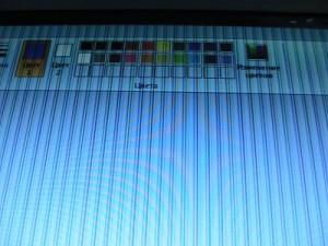 Ремонт ноутбука: полосы на мониторе при загрузке