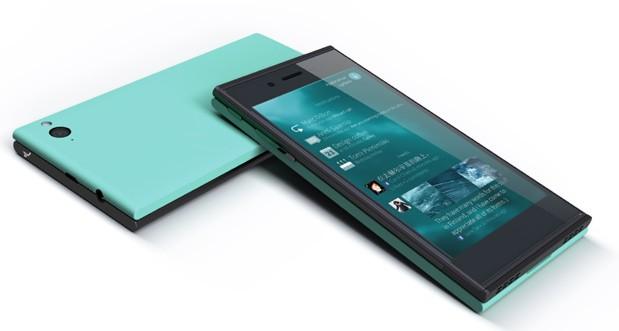 Первый смартфон на платформе Linux от финской компании Jolla