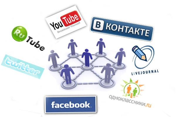 Создание социальных сетей