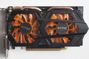 Видеокарта для игр Zotac GTX650Ti Boost