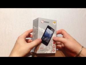 Защищенный и надежный смартфон SENSEIT R413