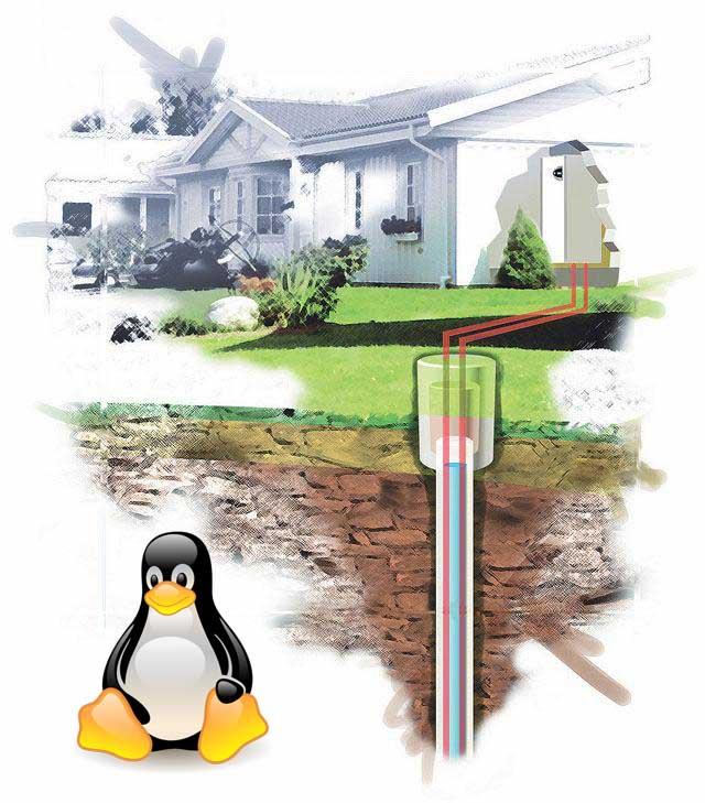 Использование Linux при бурении скважин на воду
