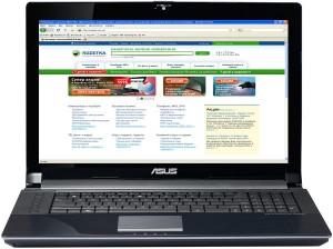 Представительный ноутбук Asus X550CC