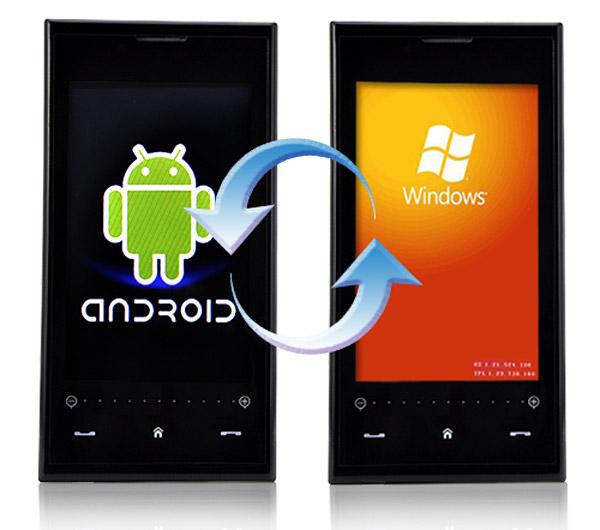 Windows Phone может стать второй ОС на Android-смартфонах