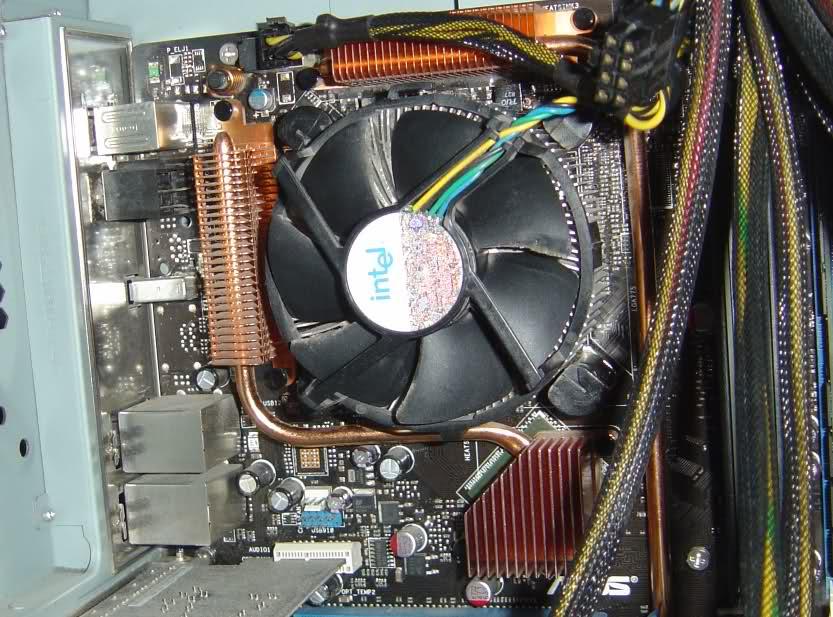 Недостаточное охлаждение повлечет за собой ремонт компьютера