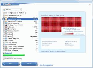 Программа PrivaZer 2.12 и некоторые ее особенности
