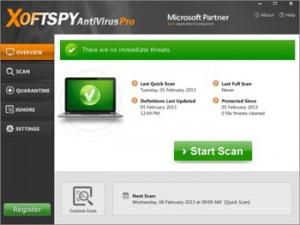 Принципиально новый антивирус XoftSpy AntiVirus Pro 9