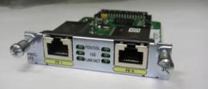 Модули HWIC-2FE и его единомышленник HWIC-4ESW