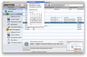 Программа Mipko Personal Monitor