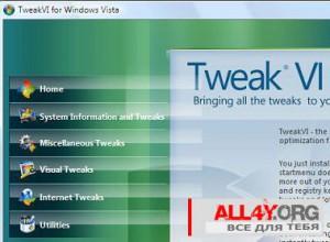 Программа TweakVI и ее возможности