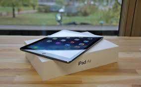 Обзор планшета iPad Air