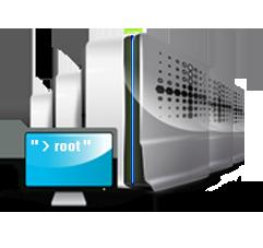 Обслуживание выделенных и виртуальных серверов