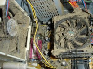 Что делать если засорился кулер в компьютере