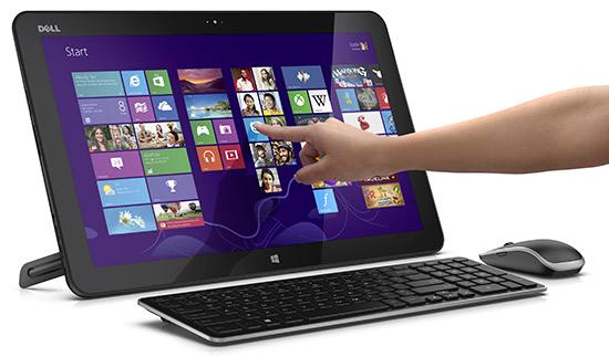 Разрыв шаблона от Dell: моноблок XPS 18 Touch