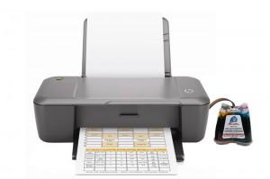 Принтер HPDeskJet 1000 с СНПЧ