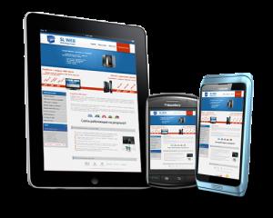 Конструкторы для создания мобильных сайтов