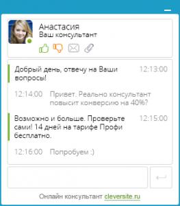 Особые возможности сервиса cleversite.ru