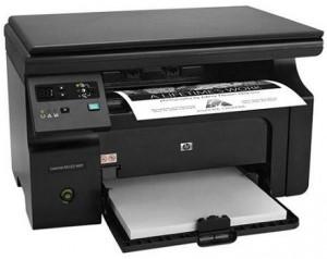 Особенности работы принтера HP LaserJet Pro M1132 MFP